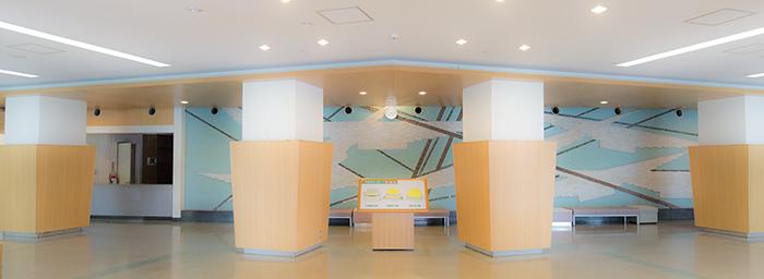 福岡市民会館 ロビーの写真を 表示しています このページではご利用に関する 情報を表示しています